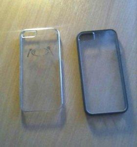 2 шт чехлы на айфон 5s