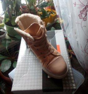 Зимние ботинки (кеды)