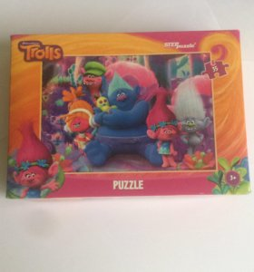 Trolls puzzle пазлы тролли