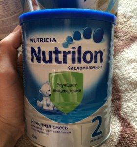 Детское питание Молочная смесь nutricia nutrilon 2