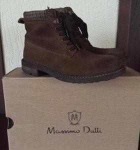 Ботинки Massimo Dutti осенние