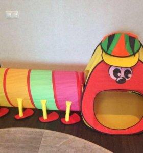 Детский игровой тоннель,палатка.