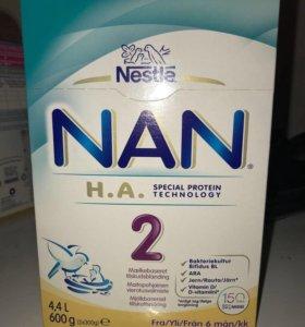 NAN 2 гиппоаллергенный