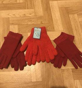 Перчатки , новые