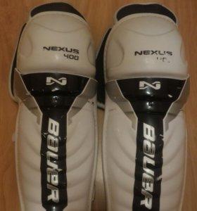 """Щитки хоккейные bauer nexus 400 (13""""/33см)"""