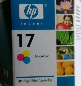 Картриджи струйные HP DeskJet 15, 27 и 17