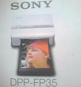 sony цифровой фотопринтер