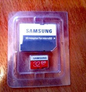 микро SD SAMSUNG 32г