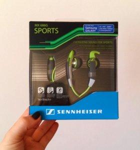 Новые наушники с микрофоном Sennheiser MX 686G
