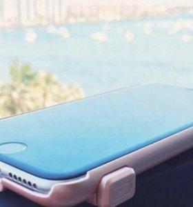 Компактный зарядный чехол для iPhone 6