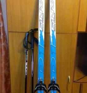Лыжи пластиковые nordic crosser