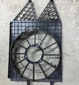 Кожух вентилятора 6R0121207 W Поло