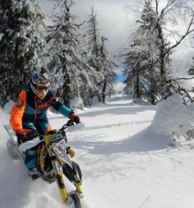 Комплект гусянка+лыжа для мотоцикла