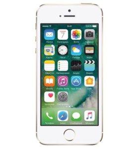 Продаю Айфон 5s 16g. 2 чехла, защитное стекло