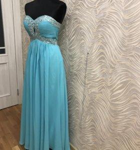 Вечернее платье в пол 40,42,44
