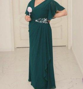 Вечернее платье 52-54
