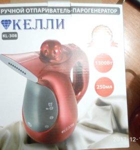 """Ручной отпариватель-парогенератор """"келли"""" KL-308"""