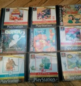 Playstation one 1 игры диски
