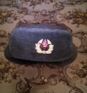 Шапка солдатская СССР