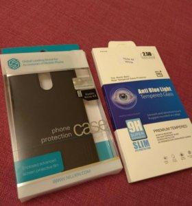 Redmi note 4 global Xiaomi Чехол и стекло новые