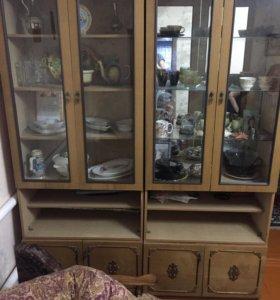 Шкафы для вещей , посуды и книжный