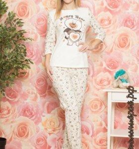 Пижама теплая размер 40-42