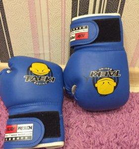 Детские перчатки для тэквандо(бокса)