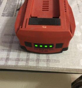 Аккумулятор Hilti 22В 1,6А в идеальном состоянии
