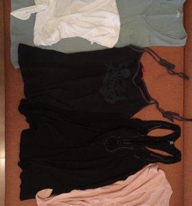 Комплект кофт, футболок и маек