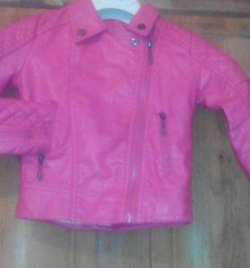 Новая куртка-косуха для маленькой модницы