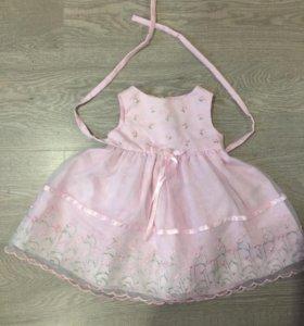 Праздничное платье на 1-1,5 года