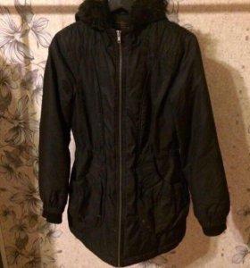 Зимняя тёплая куртка-парка