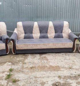 "1065 диван-книжка и 2 кресла ""Венера"""
