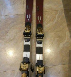 Горные лыжи HEAD