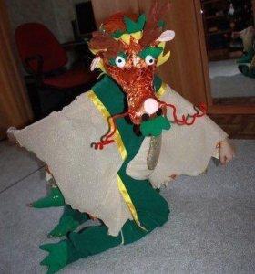 Детский новогодний костюм дракоша