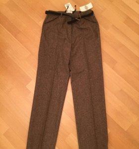 Шерстяные брюки штаны (новые)