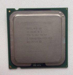Процессор: intel celeron 2.53GHz/256/533/04A