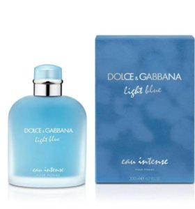 Dolce Gabbana, Light Blue Eau Intense 125ml(муж)