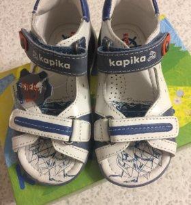 Новые сандалии Kapika 23 размер