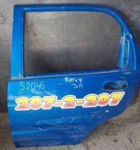 Дверь задняя левая Daewoo Matiz арт. S2046