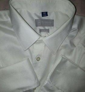 """Мужская рубашка """"Henderson"""" под запонки"""