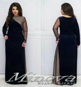 Новое платье р. 52-56