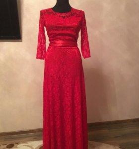 Платье вечернее выпускной длинное новогоднее новое