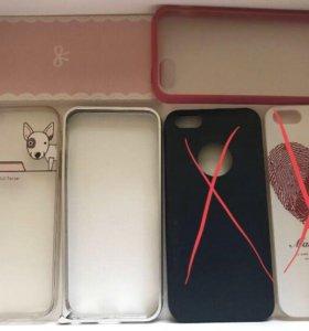 Чехлы на IPhone 5/5S