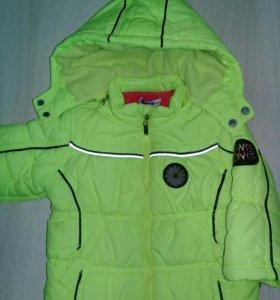Куртка весна/осень. Рост 80,12-18мес