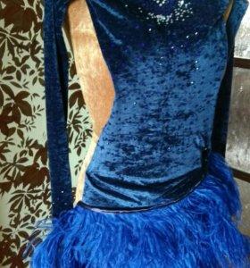 Платье. Бальные танцы. Латина