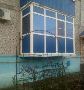 Болконы под ключ сварочные строительные работы.