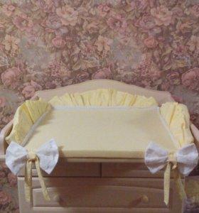 Матрас на пеленальный столик