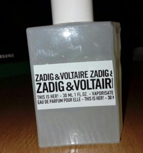 ZADIG& VOLTAIRE This is Her 30 ml