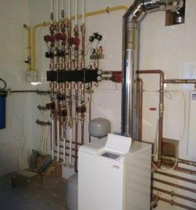 Отопление, водоснабжение.канализация